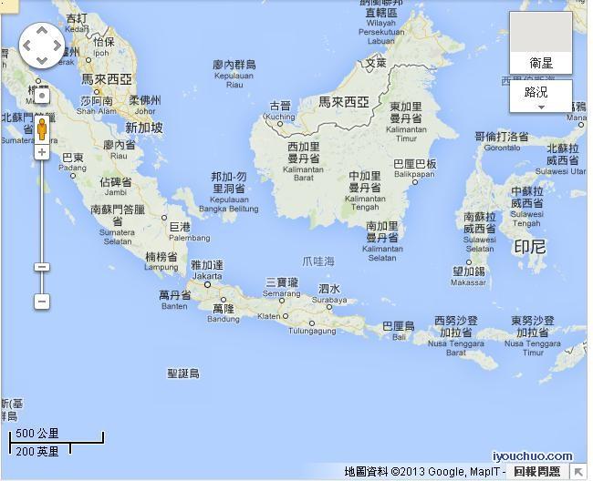 圣诞岛地图